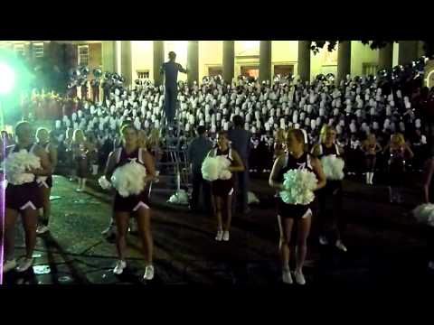Alabama Million Dollar Band Pep Rally Sept 29, 2012- You must turn it up loud!!! RTR