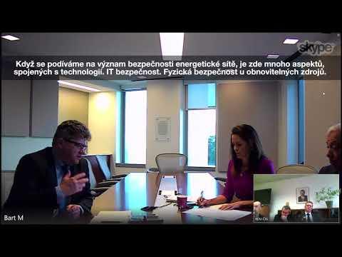 Videokonference o vztahu technologií a národní bezpečnosti