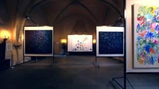Claudie Laks 2017 . Exposition au Chateau de Vianden, G-d-Luxembourg