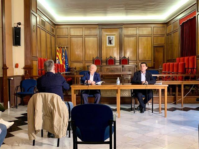 RP Alcalde Toni Francés i President ASJ Juan José Olcina, suspensió definitiva festes 2020