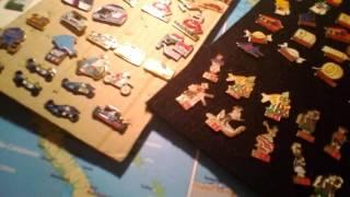 Ma collection de pin's 1 partie