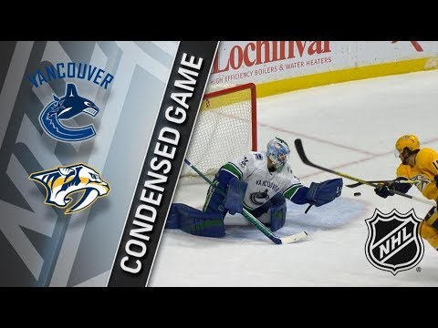 Vancouver Canucks vs Nashville Predators - November 30, 2017 | Game Highlights | NHL 2017/18. Обзор
