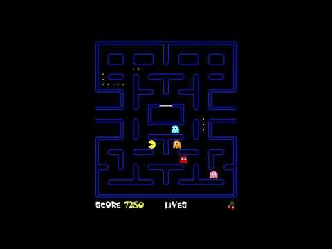 Neave Pac-Man 3 levels (26,930 points) 01 Jun 2018