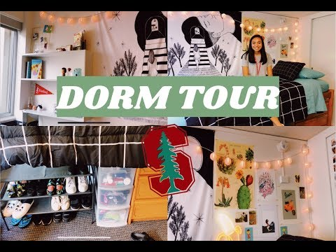STANFORD UNIVERSITY FRESHMAN DORM TOUR