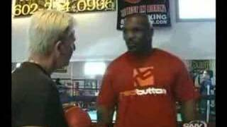 Mike Tyson peek a boo style unseen training lesson