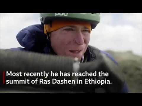 Quadruple amputee Alex Lewis climbs Ethiopian mountain
