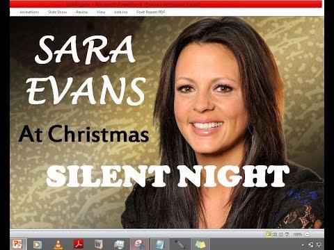 Sara Evans - Silent Night (Lyrics)