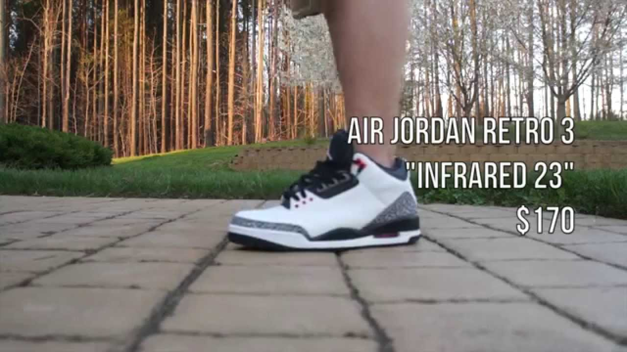 b03894858b8a33 Fit of the Day - Air Jordan Infrared 3 (ON FOOT) What To Wear With ...