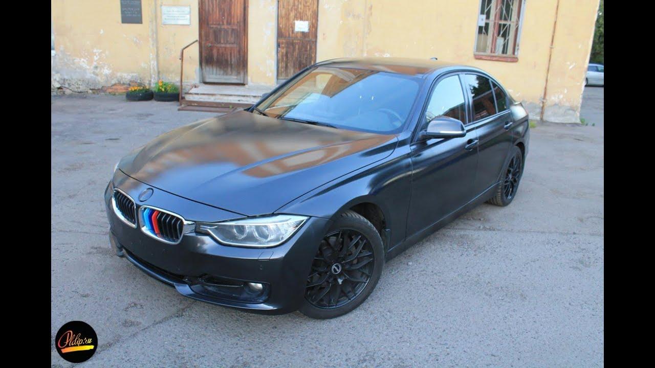 Красим BMW в нашей студии, сверху покрываем новым лаком High Gloss ...