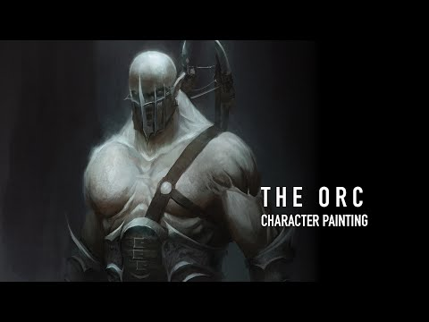 The Orc - Character Painting