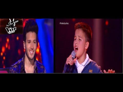 Juanse Laverde canta Cómo Mirarte y hace llorar a Sebastián Yatra | La Voz Kids Colombia 2018