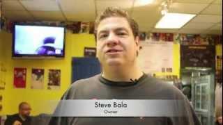 Comic Action Burger restaurant in Williamsburg Brooklyn NY. - Comic book men