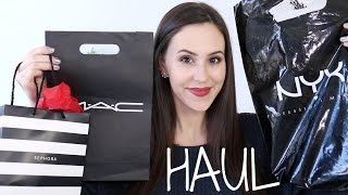 Makeup Haul 2015 : Drugstore, MAC & Sephora