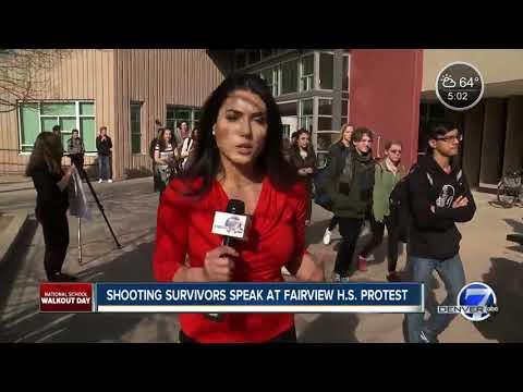 Denver-area students join nationwide walkout over gun violence