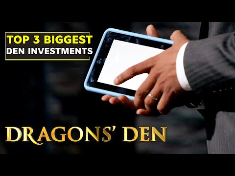 3 of the Biggest Investments in Den History | Dragons' Den