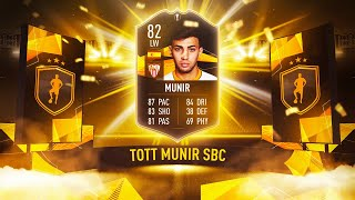 SO MUCH CONTENT! w/ TOTGS SBC MUNIR! - FIFA 20 Ultimate Team