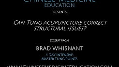 Can Tung Acupuncture Correct Structural Issues?