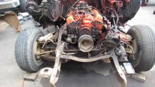 66 chevy C-10 to 78 C-10 front suspension swap