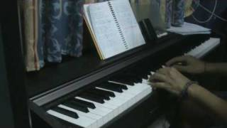 #3 - piano - sangatsu kokonoka (with vocals)