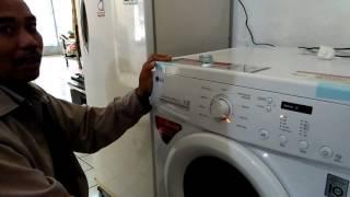 Cara Mengoperasikan Mesin Cuci LG