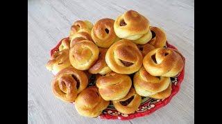 Приготовили 50 штук и все равно мало! Бабушкины булочки - самые вкусные!