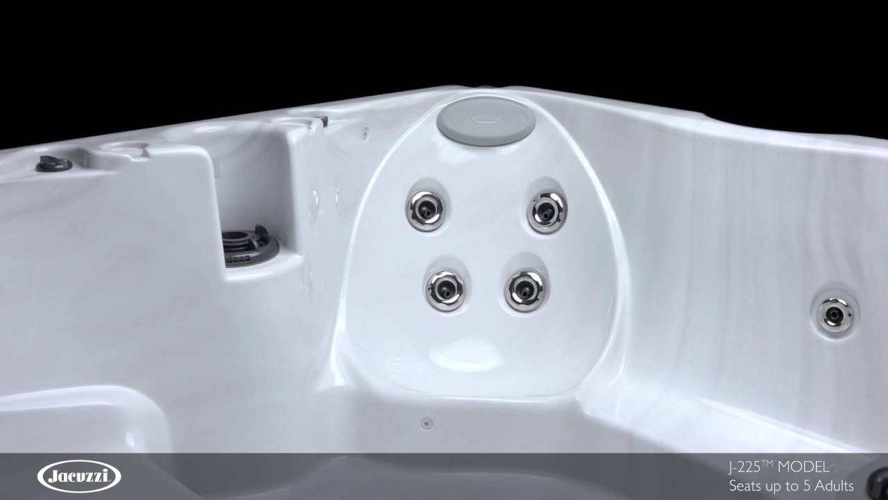 Jacuzzi J225 Hot Tub Video - YouTube