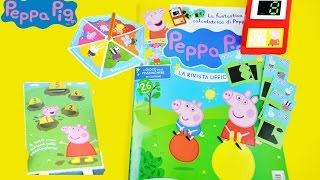 Peppa Pig Magazine/Revista Review Fun and Learn with Educational Toy Juguetes