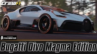 The Crew 2: Bugatti Divo Magma Edition | FULLY UPGRADED | A DIVO FOR THE STRAIGHTS