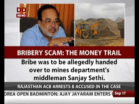 Senior IAS officer arrested in bribery case in Rajasthan