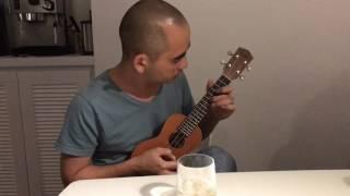 Vọng cổ thử đàn Ukulele - Đức Trí