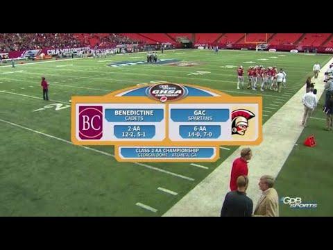 2A_Benedictine vs. Greater Atlanta Christian