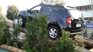 Motor Show 2010: il test-drive della Dacia Duster