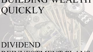 I'm Building Wealth Quickly!!!   Dividend Reinvestment Examples, Investing, Dividends, Finance