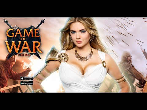 Kate Upton Game of War Live Action Trailer Commercial