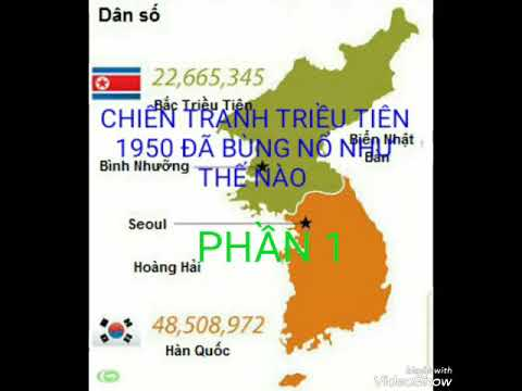 Chiến tranh Triều tiên 1950 đã bùng nổ như thế nào ? (1)