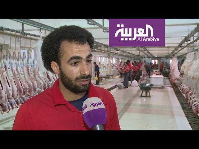 """a42d766461443 بالفيديو بالفيديو  شبيه محمد صلاح.. قصة """"جزار"""" خطف الأضواء في الكويت"""
