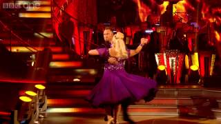 Vanessa Feltz & James dance the Tango to