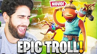 THIS TIME FORTNITE HAS GONE TOO FAR! THEY'VE RELEASED THE MOST TROLL SKIN! -FORTNITE