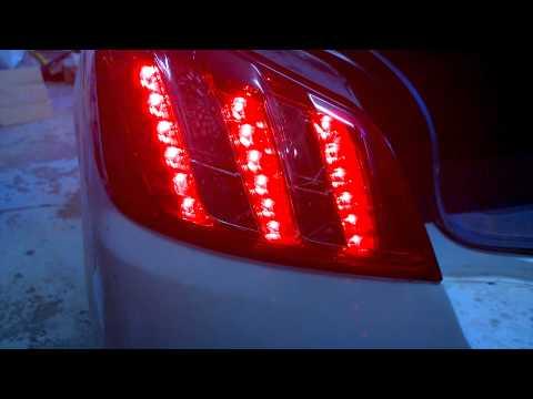 Peugeot 508 LED vilkkujen päivitys Cree R4 XP-E
