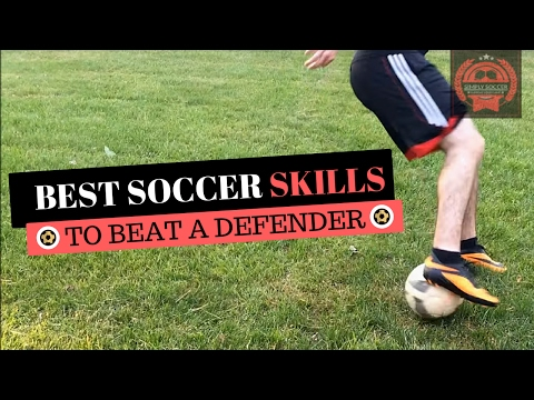 Top 10 Best Soccer Attacking Skills To Beat A Defender – Soccer Skills To Use In a Game