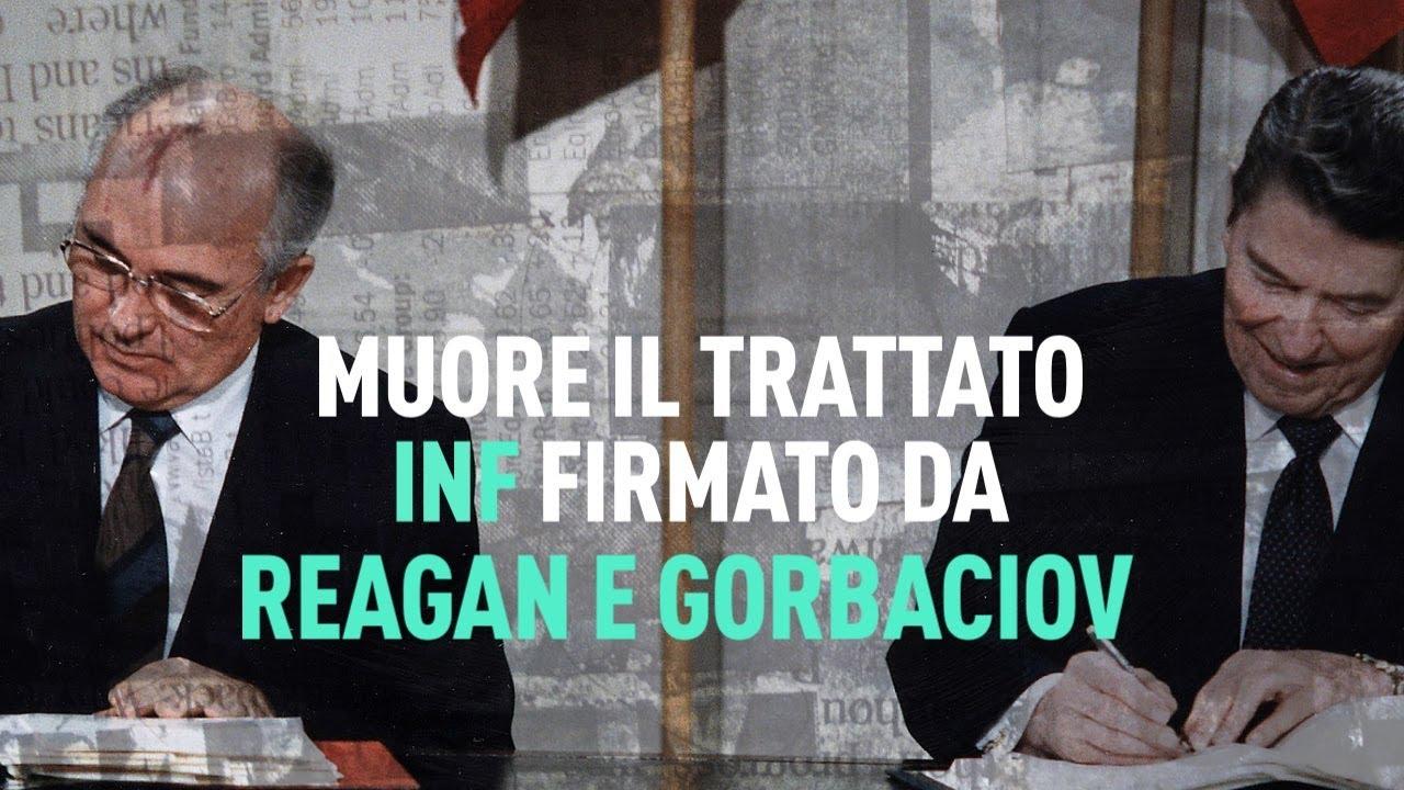 PTV News - 04.07.19 - Muore il trattato INF firmato da Reagan e Gorbaciov