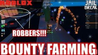 Roblox: JailBreak: User the Bounty Farmer Ep2: SO MANY ROBBERS