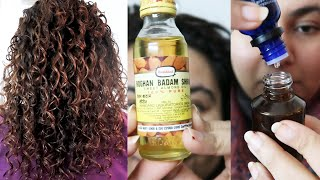 My INDIAN Winter CURLY girl routine