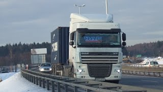 Crazy truckers in Poland and Czech/Szalone tiry w Polsce i Czechach