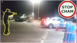 Kobieta w BMW demoluj stacje benzynową i nieudolna Policja #576 Wasze Filmy