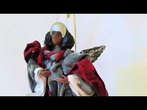 Black American Christmas Decoration | Black Christmas Decor