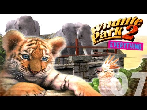 Let's Play Wildlife Park 2 FREEPLAY (ALL EXPANSIONS) - Episode 07 - Lions, Giraffes and Elephants!