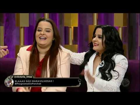 Programa Do Porchat (completo) | Maiara E Maraisa (28/12/2017)
