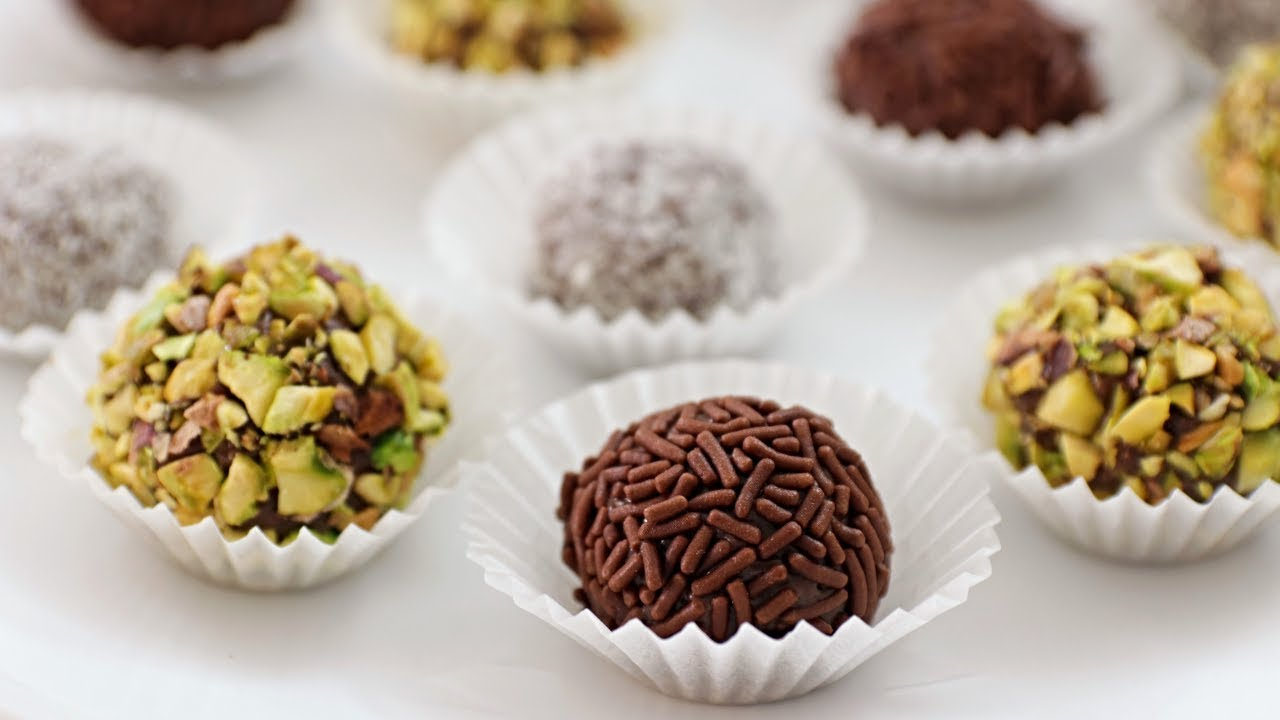 Brigadeiro Recipe Brazilian Chocolate Truffles Youtube