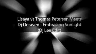 Lisaya vs Thomas Petersen Meets Dj Deraven - Ebony Angel (Dj Lee Edit)